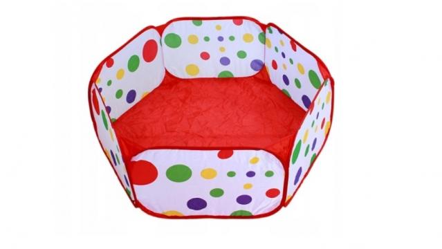 Sulankstomas baseinas kamuoliukams, 90 x 90 x 35 cm