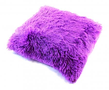Dekoratyvinės pagalvėlės užvalkalas violetinis 43 x 43 cm