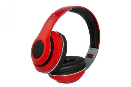 Belaidės ausinės (raudonos)