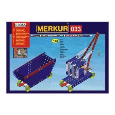 """""""Merkur"""" konstruktorius """"Geležinkelio modeliai"""""""
