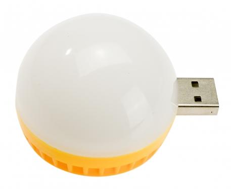 Nešiojamo kompiuterio USB lempa, 5 x 4 cm