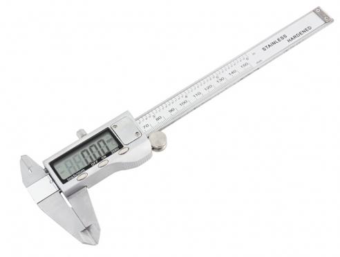 Elektroninis slankmatis, 0-150 mm