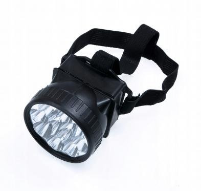 12 LED galvos žibintas