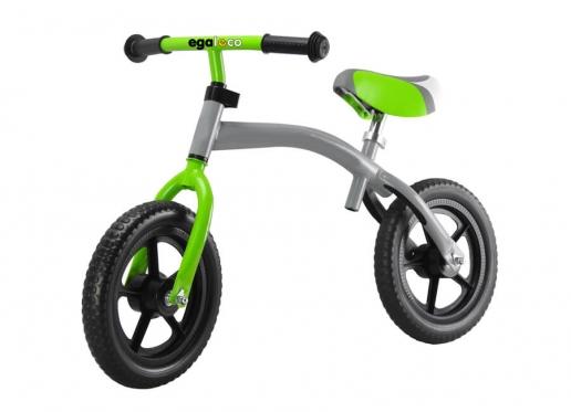 """Du viename balansinis dviratis """"Egaleco"""" su apverčiamu rėmu, 84 x 37 cm"""