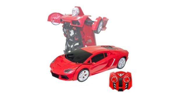 """Nuotolinio valdymo transformeris """"Lenktyninis automobilis"""""""