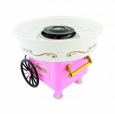Cukraus vatos gaminimo aparatas (rožinis)