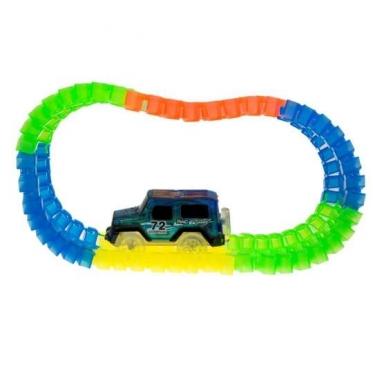 """""""72 toys"""" lenktynių trasa ir mašinėle"""