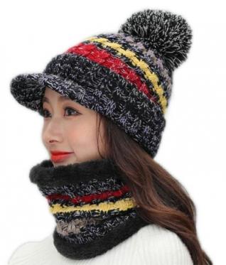Kepurės ir šaliko komplektas, 86 x 15 cm