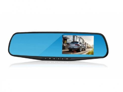 Automobilio veidrodėlis - vaizdo registratorius, 30 x 8 cm