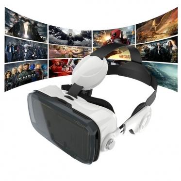 VR akiniai su ausinėmis