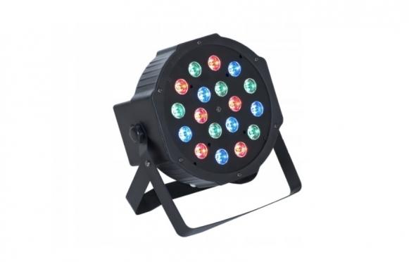 18 LED projektorius