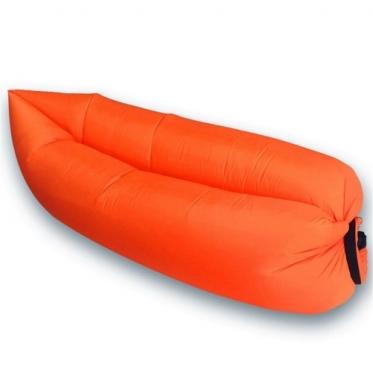 """Pripučiamas paplūdimio gultas """"Lazy Bag"""", oranžinis"""