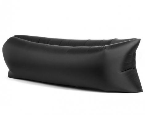 """Pripučiamas paplūdimio gultas """"Lazy Bag"""", juodas"""