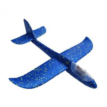 Žaislinis putų lėktuvėlis su LED apšvietimu, 48 x 47 cm