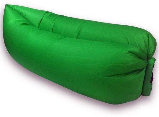 """Pripučiamas paplūdimio gultas """"Lazy Bag"""", žalias"""