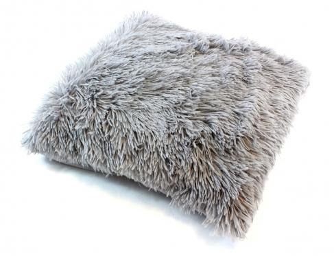 Dekoratyvinės pagalvėlės užvalkalas pilkas, 43 x 43 cm