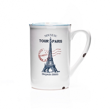 Puodelis su Eifelio bokšto atvaizdu, 390 ml