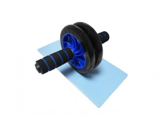 Preso treniruoklis - dvigubas volelis su kilimėliu