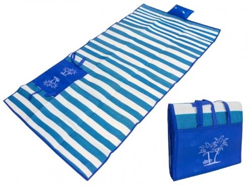 Mėlynas paplūdimio kilimėlis, 178 x 90 cm