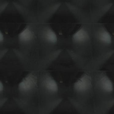 Juodos spalvos folija, 152 x 10 cm