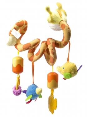 """Pliušinis žaislas kūdikio lovytei """"Žirafa"""", 20-60 cm"""