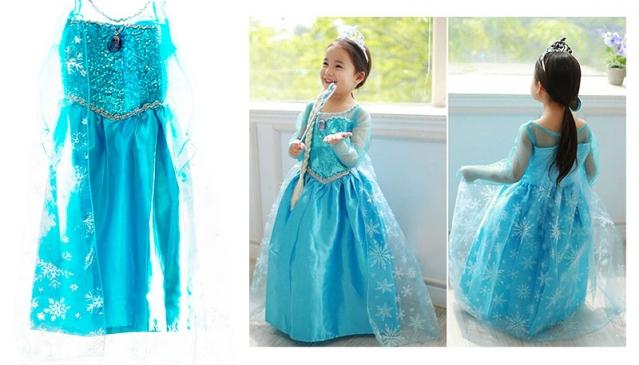 """Vaikiškas kostiumas """"Princesė Elsa"""", 60 cm"""