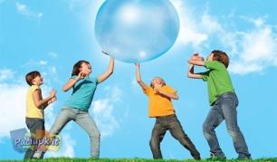 """""""Wubble Bubble"""" kamuolys - tikra atrakcija vaikams!"""