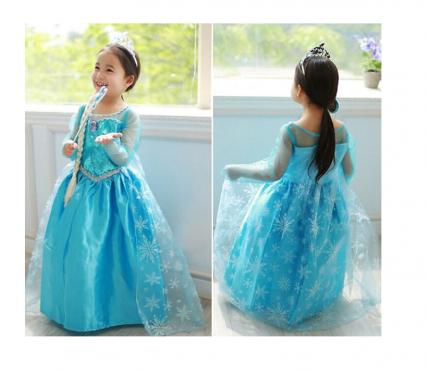 """Vaikiškas kostiumas """"Princesė Elsa"""", 86 cm"""