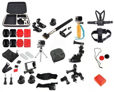 """""""GoPro"""" kameros priedų rinkinys"""