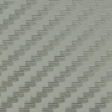 Sidabrinės spalvos folija 3D, 152 x 10 cm