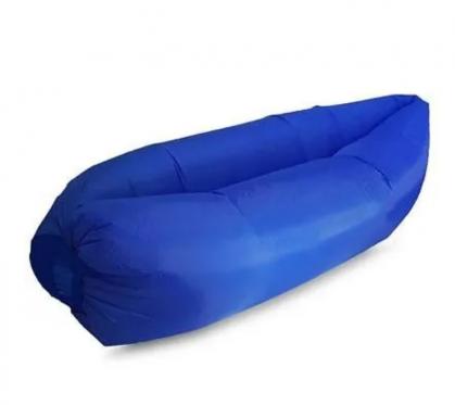 """Pripučiamas paplūdimio gultas """"Lazy Bag"""", tamsiai mėlynas"""