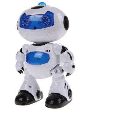 """Interaktyvus robotas """"RC android 360"""" su nuotolinio valdymo pulteliu, 13 x 8 x 23 cm"""