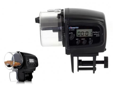 Automatinis žuvų maitinimo prietaisas, 10,6 x 10,3 x 5,9 cm