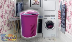 Tvirta 50 + 10 litrų skalbinių dėžė (galimi spalvų pasirinkimai)