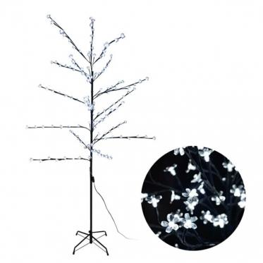 Medis su LED apšvietimu, 190 x 90 cm