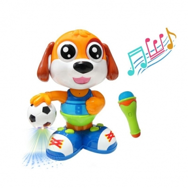"""Interaktyvus žaislas """"Dainuojantis šuo"""""""