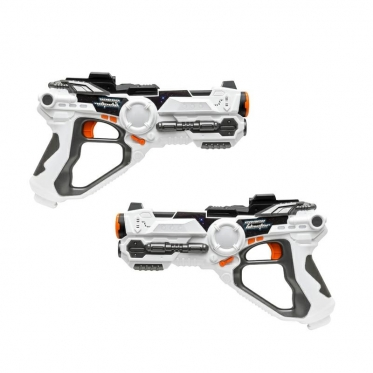 """Žaidimas - lazerinis šautuvas """"Lazerinių ginklų mūšis"""", 2 vnt"""