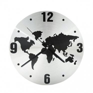 """Sieninis laikrodis """"Pasaulis"""", 30 x 30 x 3 cm"""