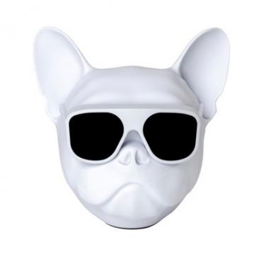 """Belaidis garsiakalbis """"Šuo"""", 3 W (baltas)"""