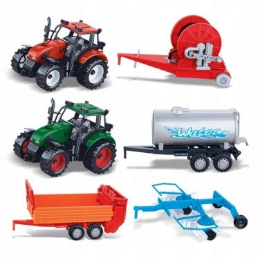 """Žaislų rinkinys """"Žemės ūkio technika"""", 17 x 10 x 10,5 cm"""