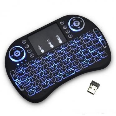 Belaidė klaviatūra su apšvietimu, 146,8 x 97,5 x 19 mm
