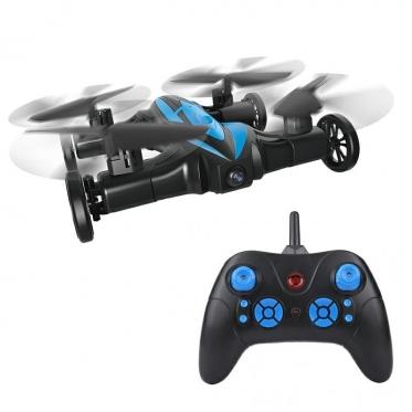 Du viename, nuotolinio valdymo mašinėlė - dronas, 25 x 25 x 6 cm