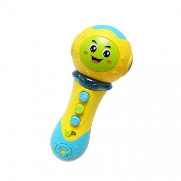 """Interaktyvus žaislas """"Mikrofonas"""", geltonas"""