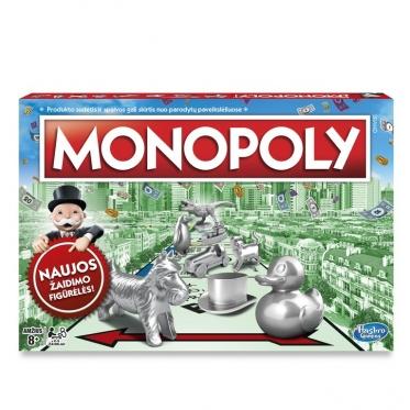 """Stalo žaidimas visai šeimai """"Monopolis"""""""