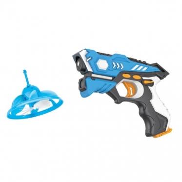 Infraraudonųjų spindulių žaislinis ginklas su taikiniu, 23 x 15 x 4 cm