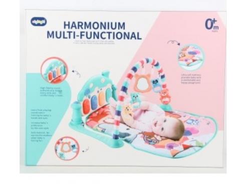Kūdikio žaidimų kilimėlis su pianinu, 80 x 70 x 48 cm