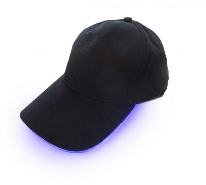 Kepurė su LED apšvietimu