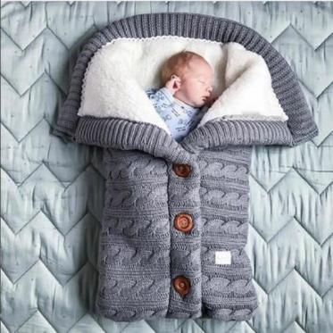 Kūdikio miegmaišis - pledas, 68 x 40 cm
