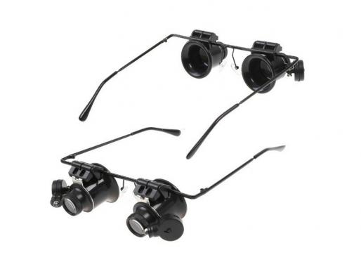 Padidinamieji akiniai laikrodininkams, 17 x 15 x 4,5 cm