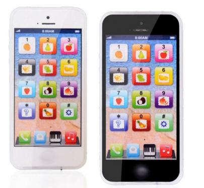Žaislinis išmanusis telefonas, 5,8 x 12,5 x 0,8 cm